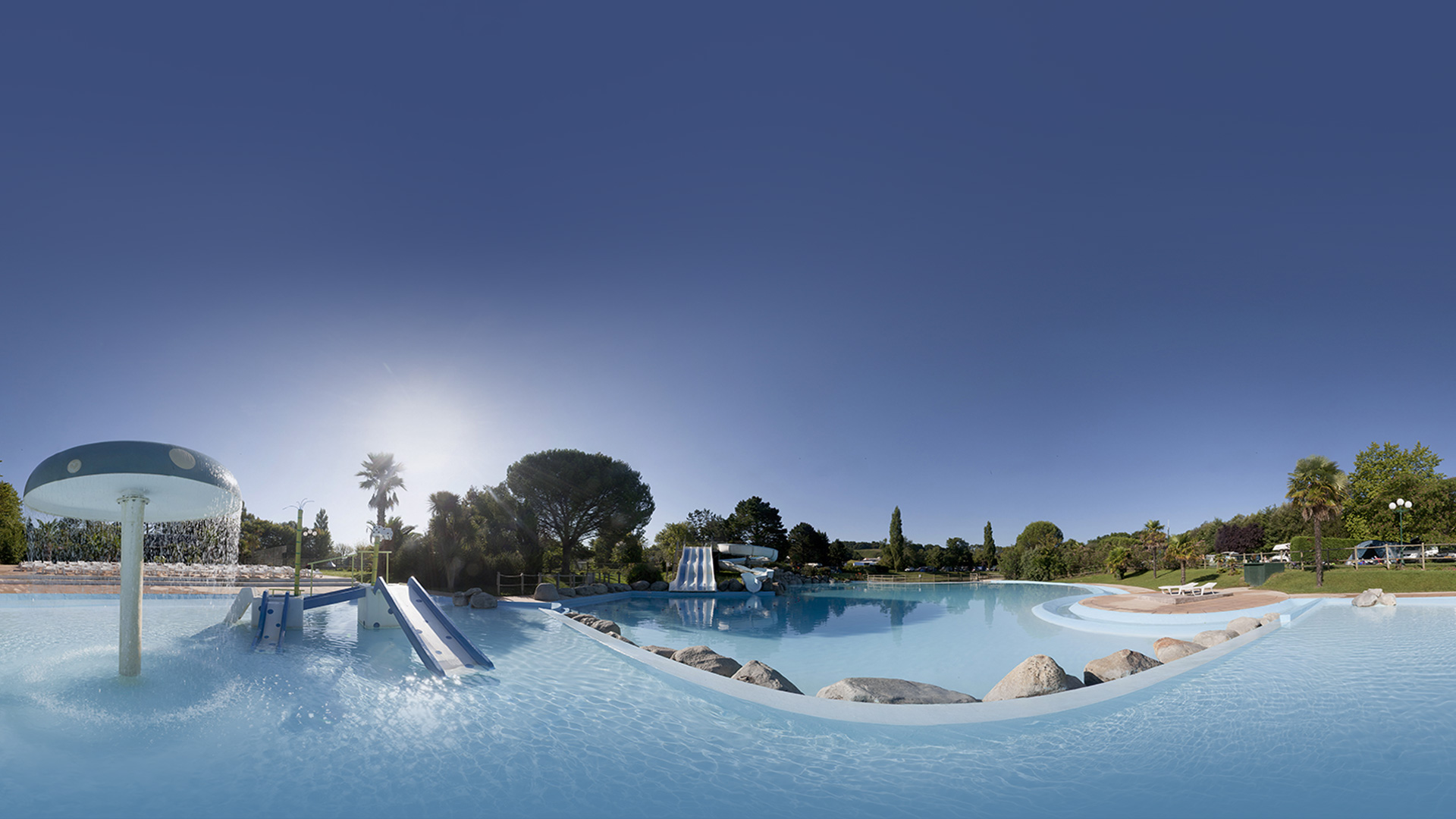 Camping biarritz pays basque le ruisseau 5 toiles for Camping a biarritz avec piscine