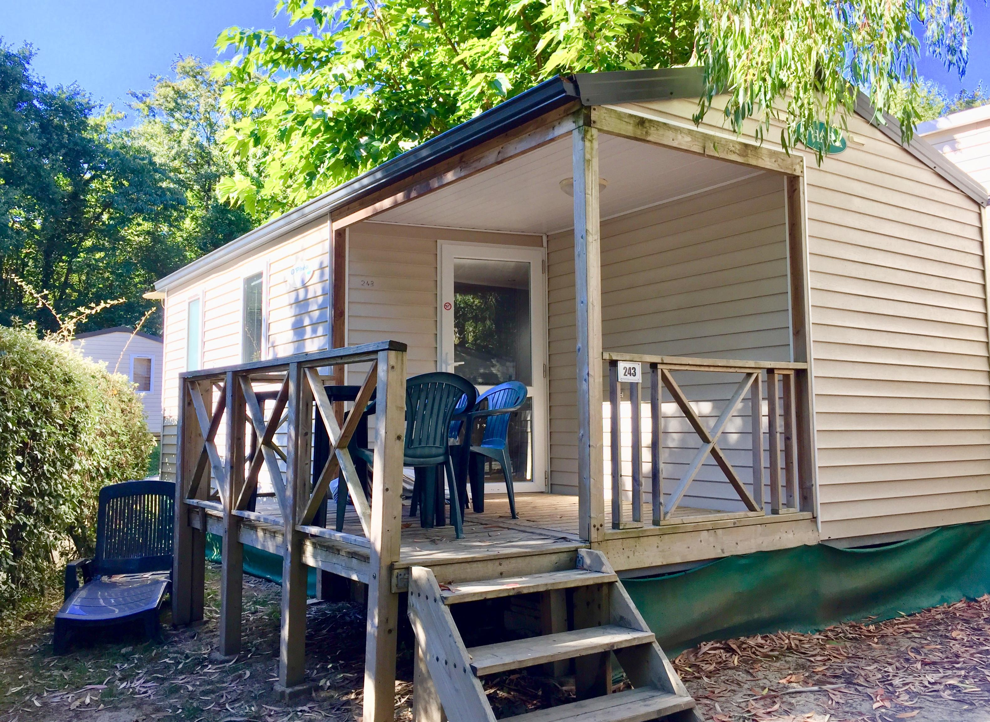 Mobil-home camping 5 étoiles Biarritz