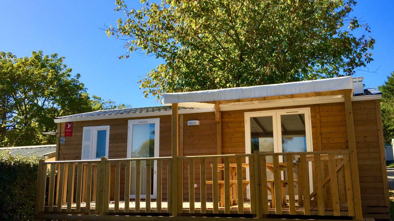 Mobil-home en bois camping Biarritz