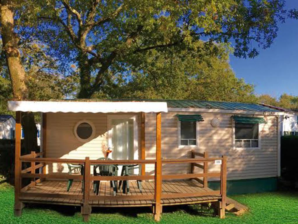 Mobil-home classique camping Bidart