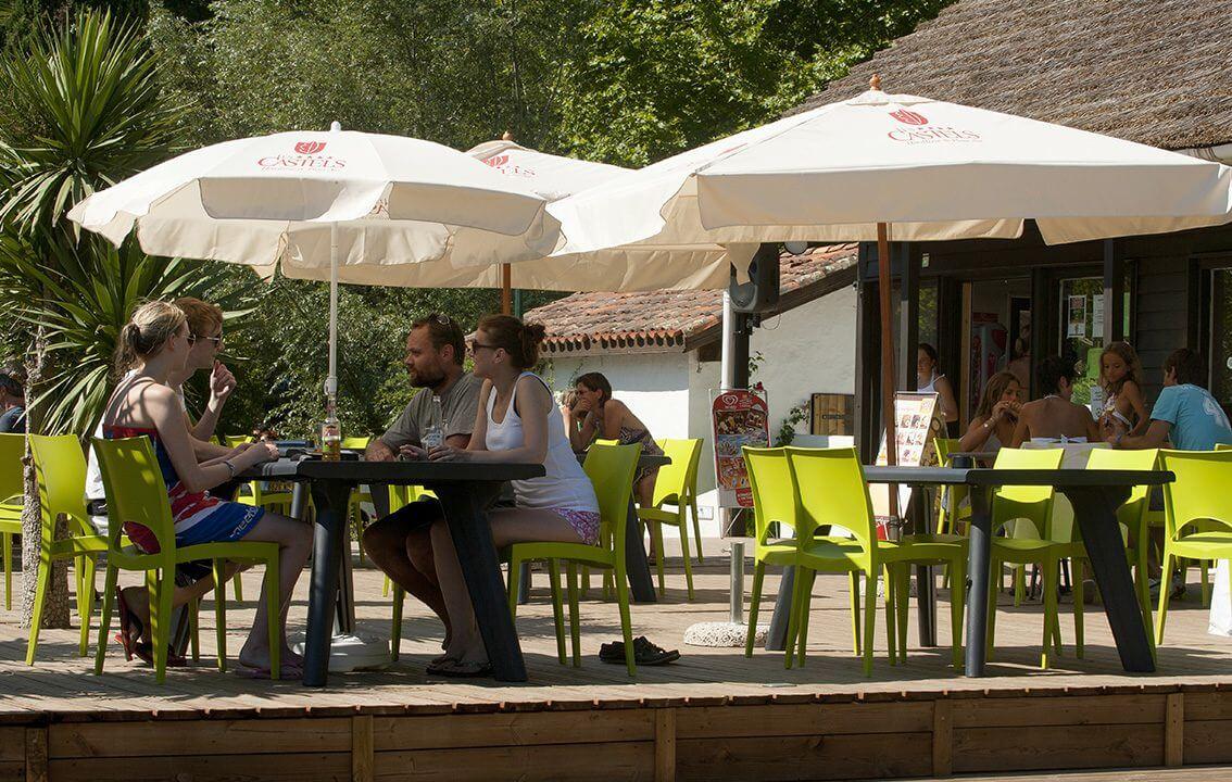 Restaurant camping Bidart