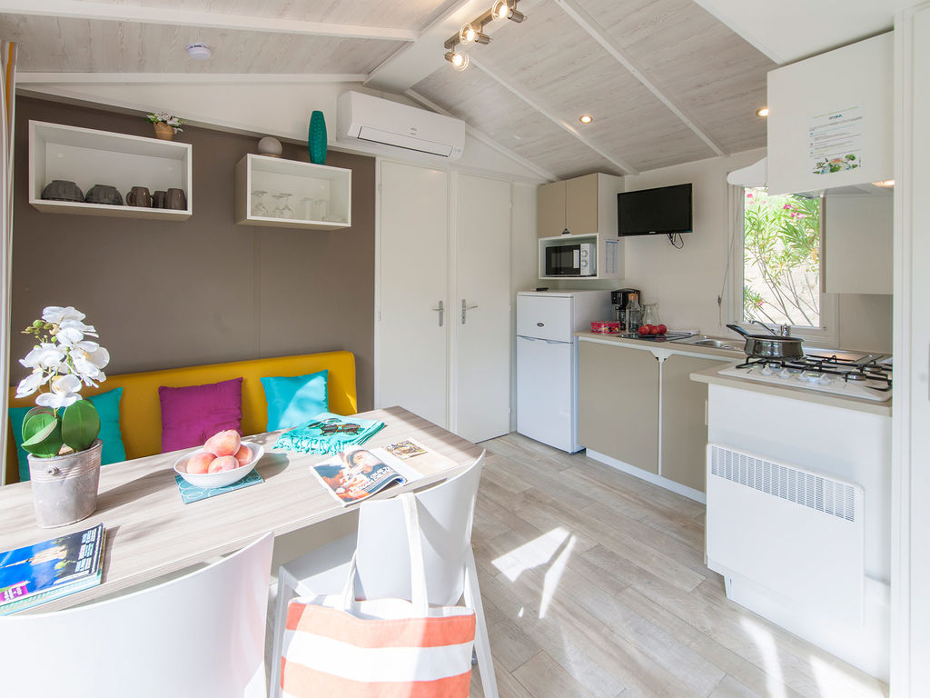 Confortable mobil-home camping 5 étoiles Biarritz