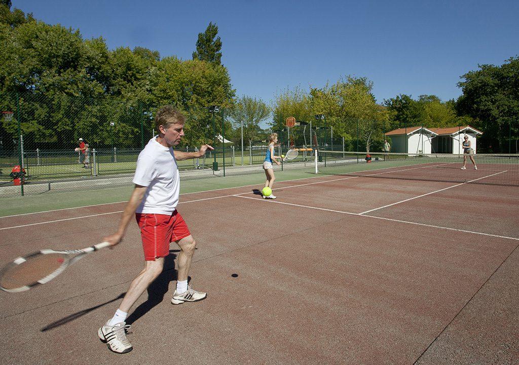 Tennis camping Bidart