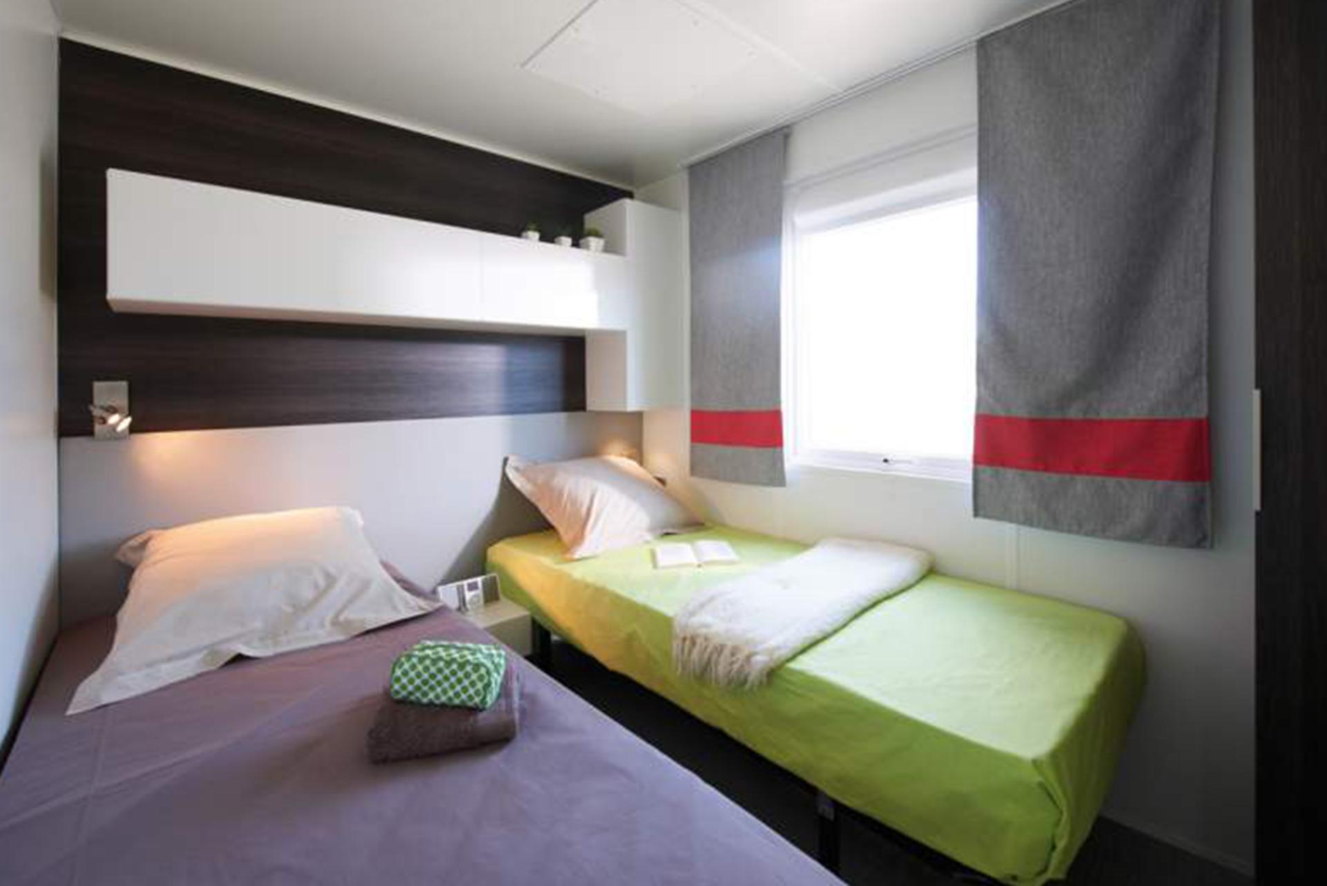 Chambre pour enfant camping Bidart