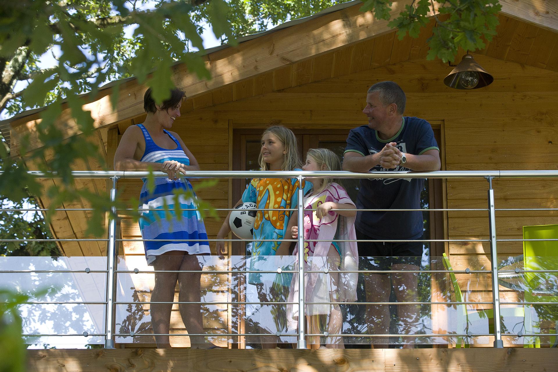 Séjour en famille camping Bidart