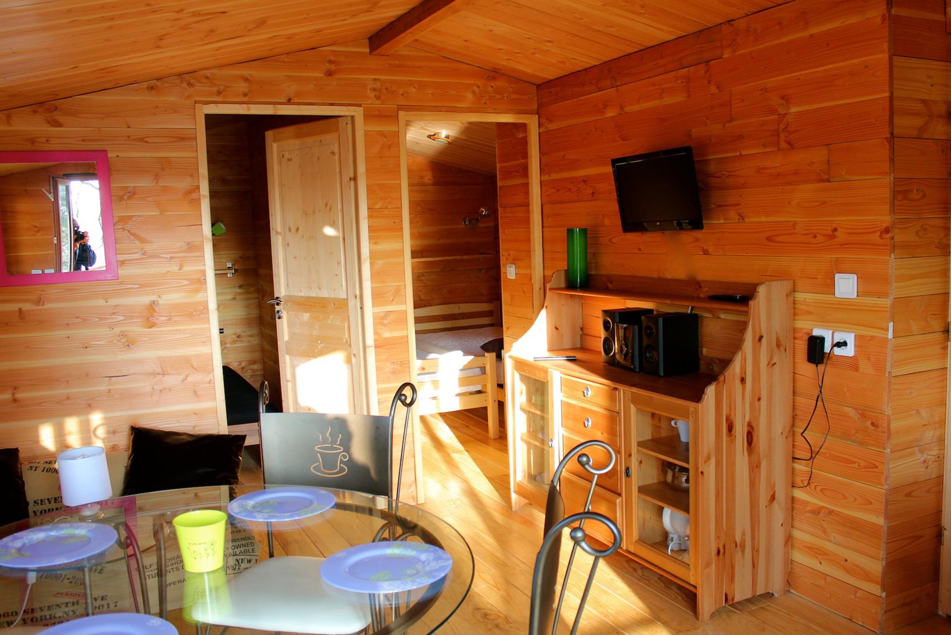 Logement en bois camping Bidart