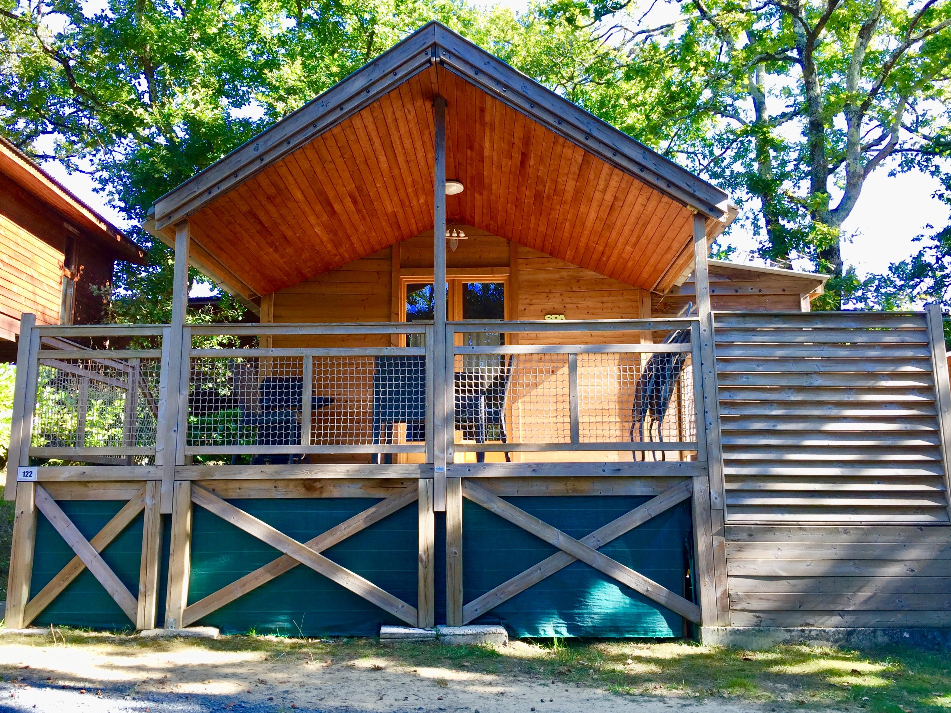 Grand mobil-home camping Bidart
