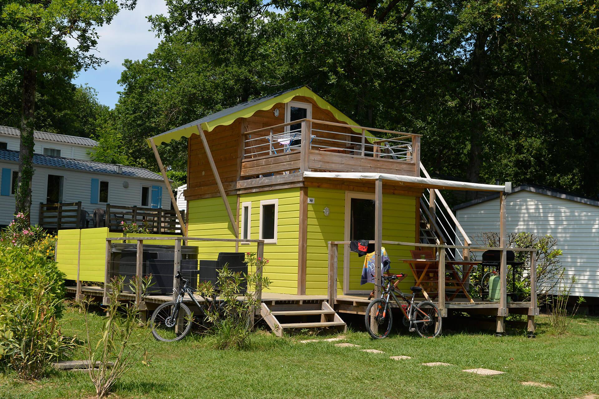 Original mobil-home camping 5 étoiles Biarritz