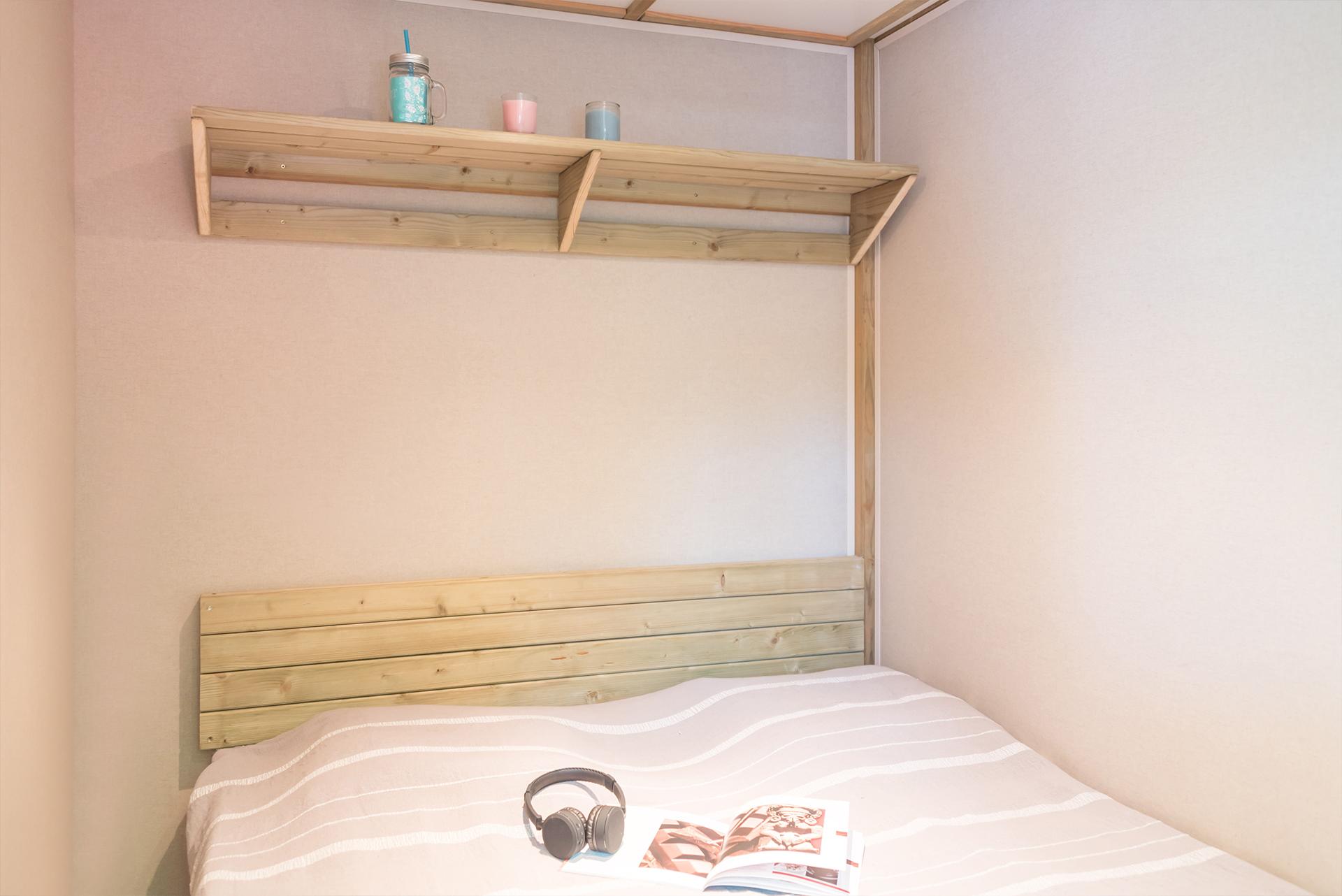 Chambre de mobil-home camping Biarritz