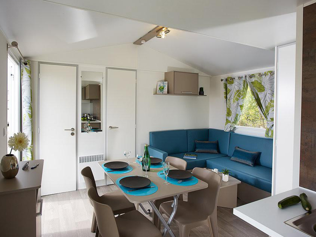 Moderne mobil-home camping Biarritz