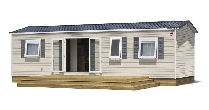 Image 3d du Mobil Home vente de mobil home Bidart Camping Le Ruisseau